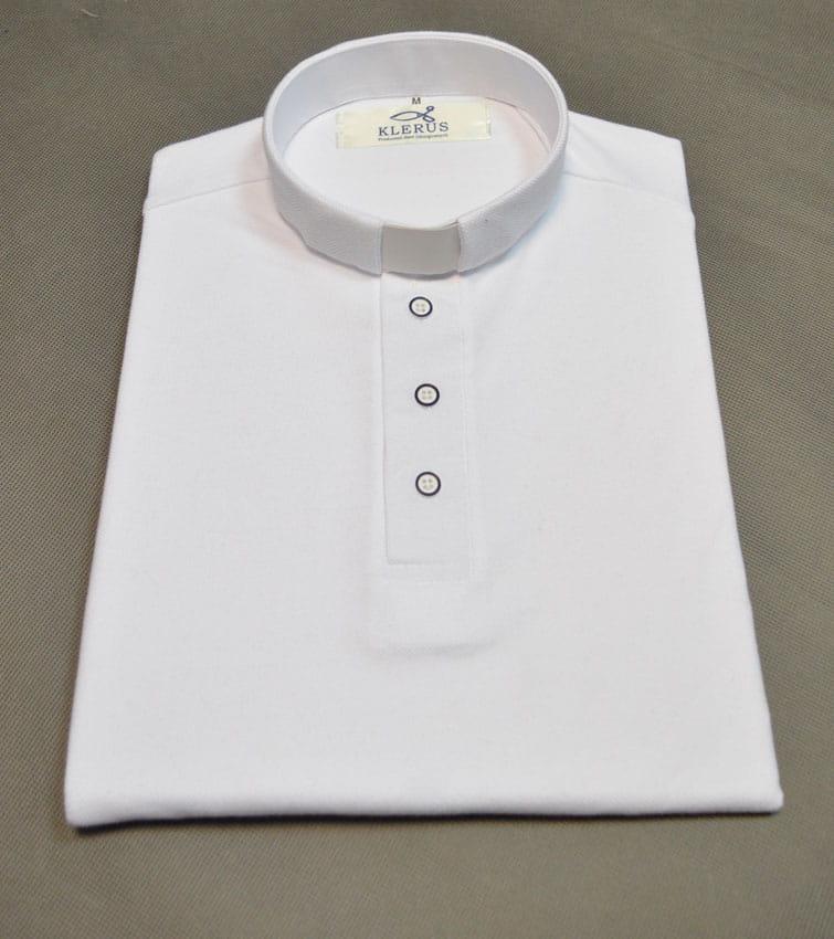 Koszulka polo dla księdza, pod koloratkę  WnN0v